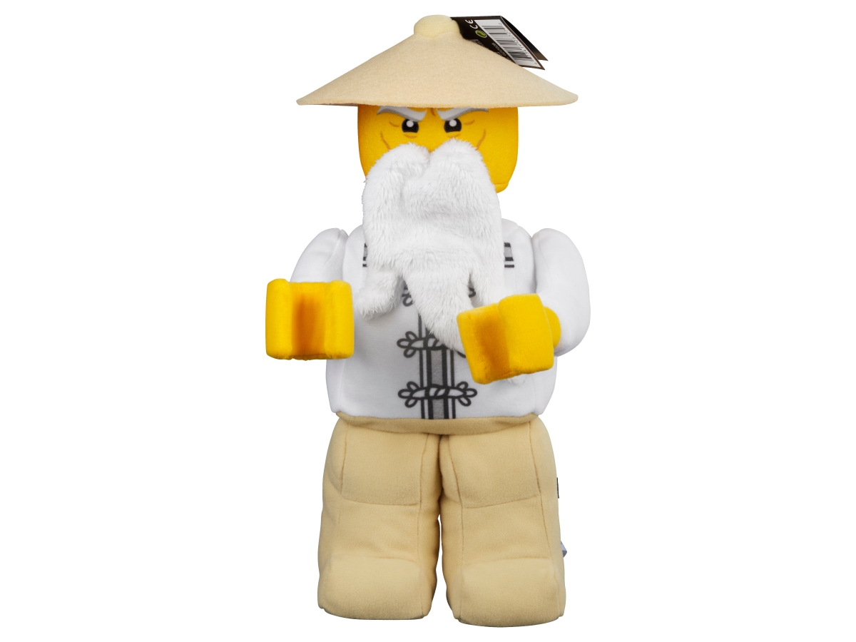 lego 853765 master wu minifigure plush