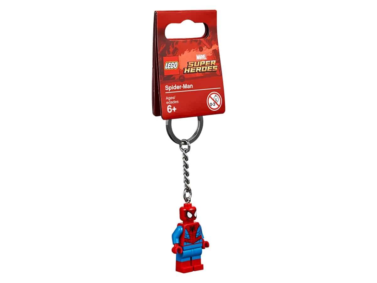 lego 853950 spider man keyring