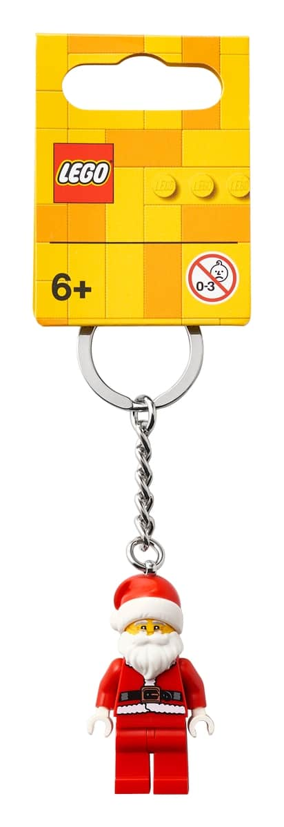 lego 854040 happy santa key chain