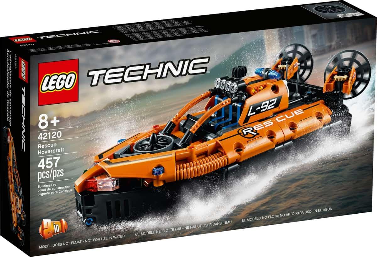 lego 42120 hovercraft de resgate