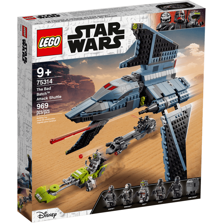 LEGO 75314 Vaivém de Ataque The Bad Batch - 20210506