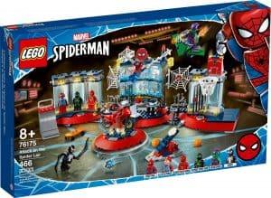 lego 76175 ataque ao esconderijo de spider man