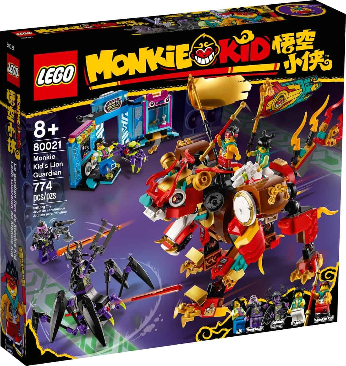 lego 80021 leao guardiao de monkie kid