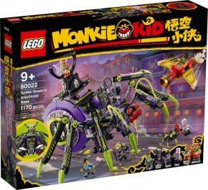 lego 80022 base aracnidea da spider queen