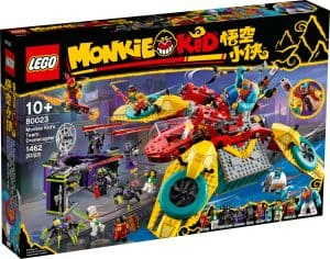 lego 80023 helicoptero drone da equipa de monkie kid