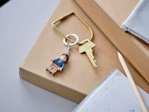 lego 854118 porta chaves chandler