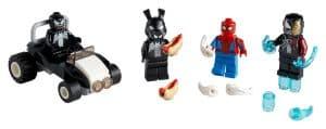 lego 40454 spider man vs venom e iron venom