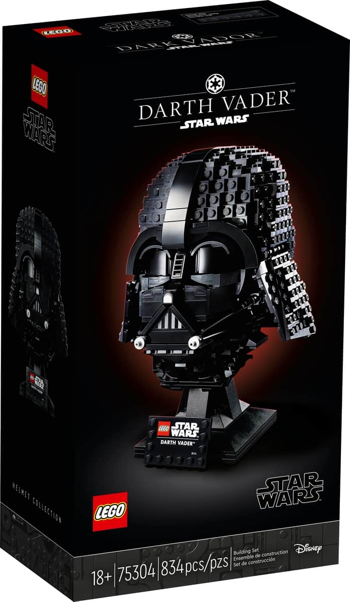 lego 75304 capacete de darth vader