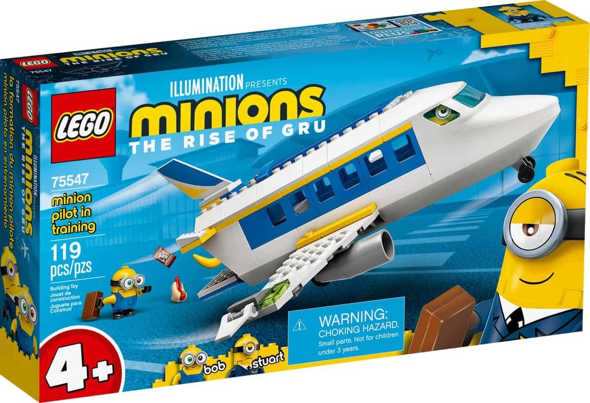 lego 75547 piloto minion em formacao