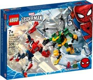 lego 76198 combate de mechs spider man e doctor