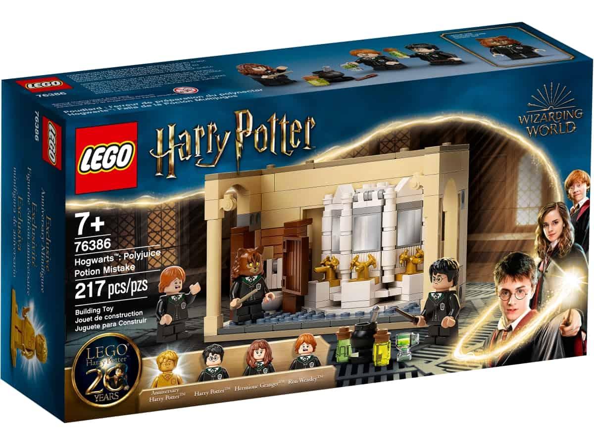 lego 76386 hogwarts erro de pocao polissuco