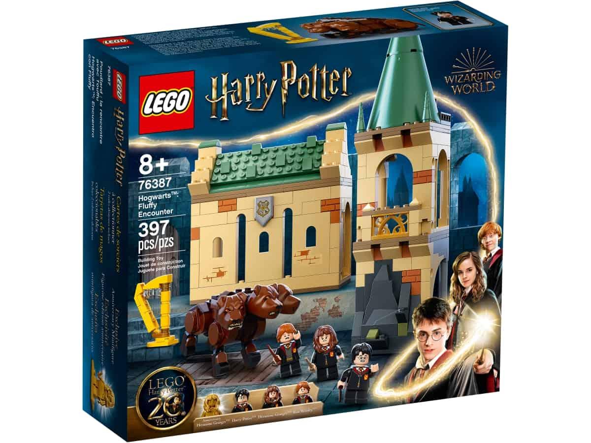 lego 76387 hogwarts encontro com fluffy