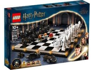 lego 76392 jogo de xadrez dos feiticeiros de hogwarts