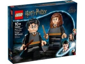 lego 76393 harry potter e hermione granger