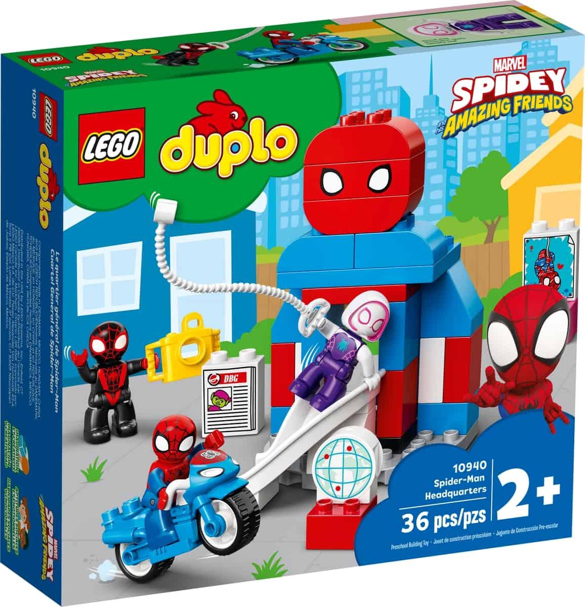 lego 10940 quartel general de spider man