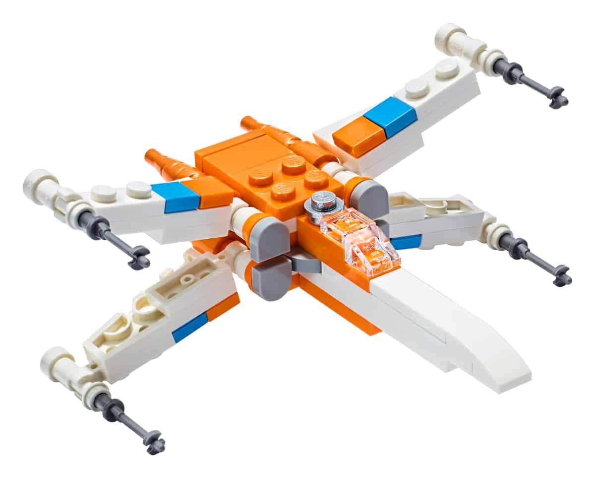 lego 30386 o x wing fighter de poe dameron