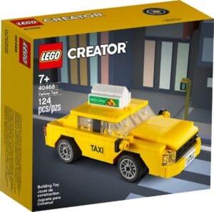 lego 40468 taxi amarelo