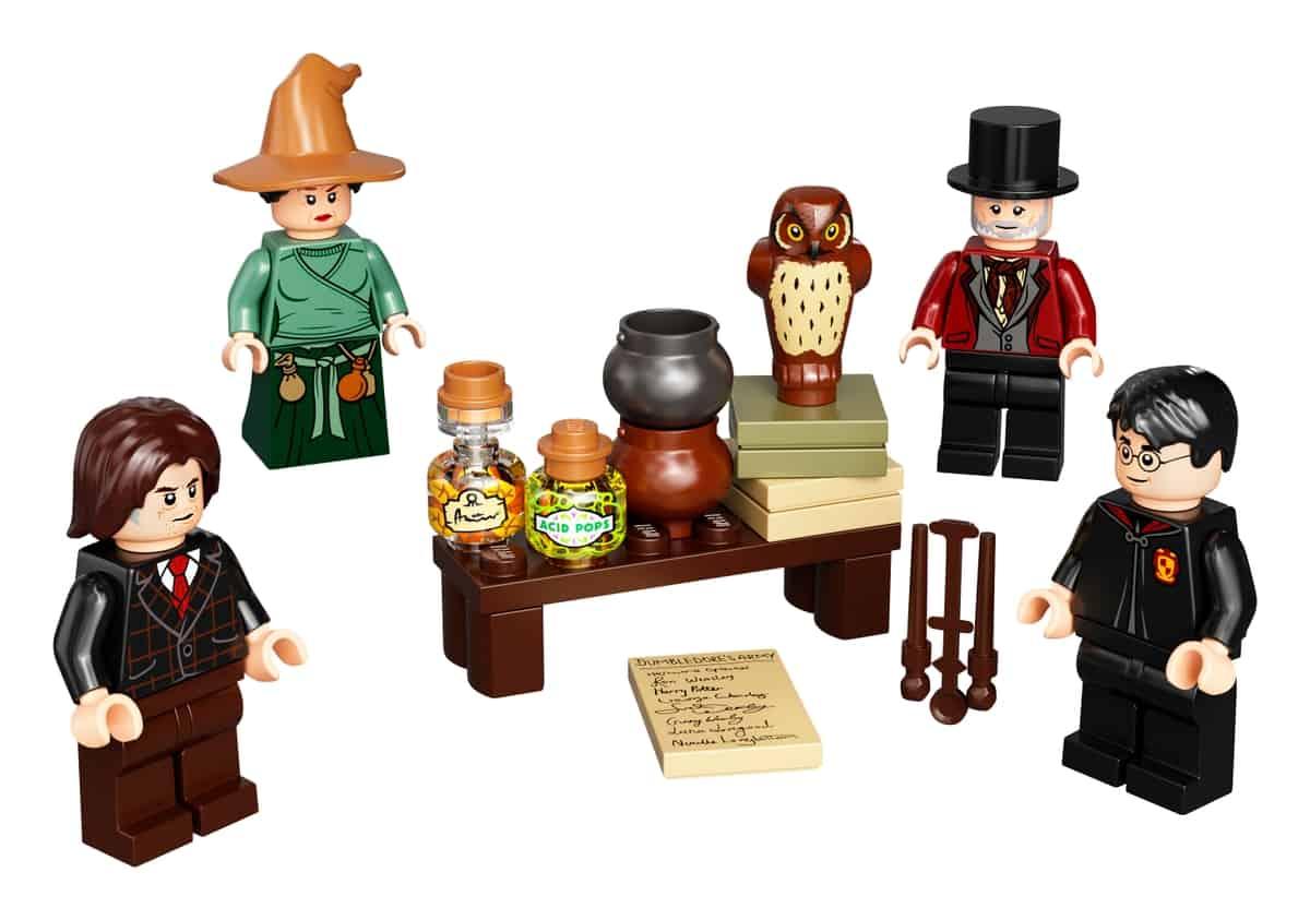 lego 40500 set de acessorios para minifiguras wizarding world