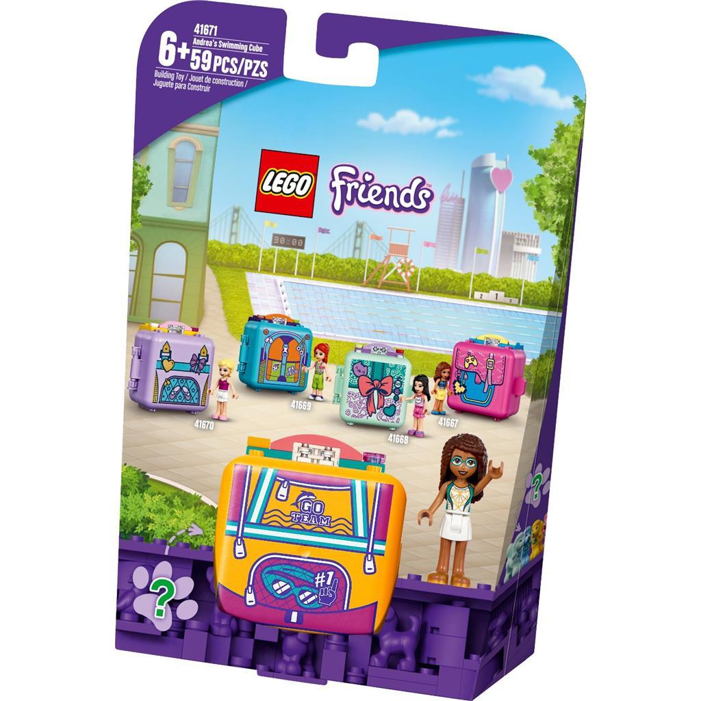 LEGO 41671 Andrea\'s Swimming Cube - 20210502