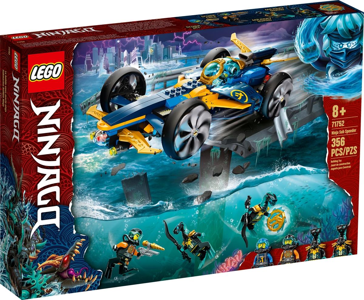lego 71752 speeder subaquatico ninja