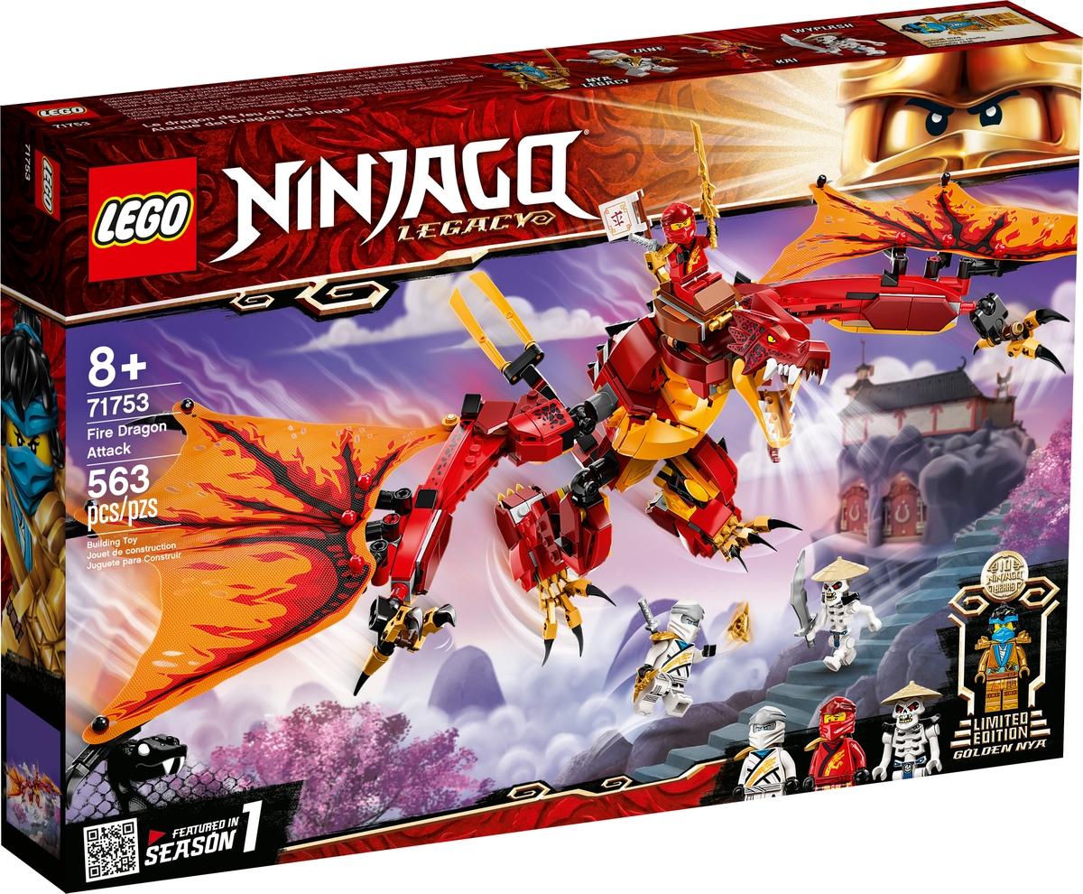 lego 71753 ataque do dragao do fogo