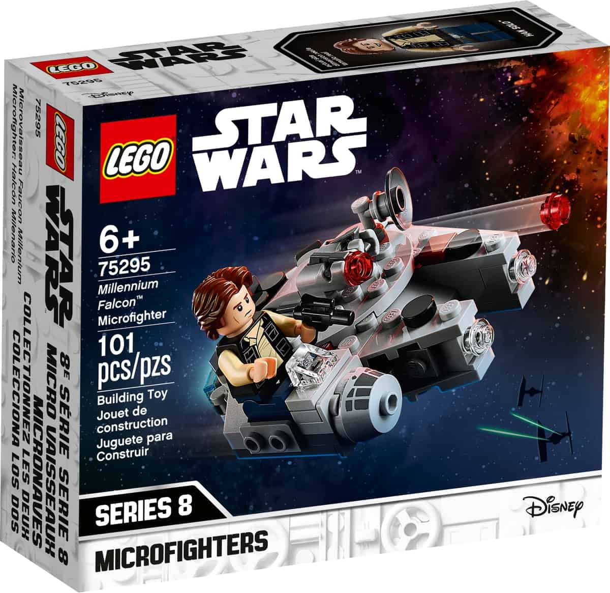 lego 75295 microfighter millennium falcon