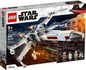 lego 75301 o x wing fighter de luke skywalker