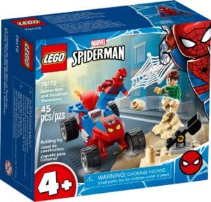 lego 76172 duelo de spider man e sandeman