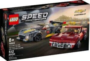 lego 76903 chevrolet corvette c8 r race car e 1968 chevrolet corvette