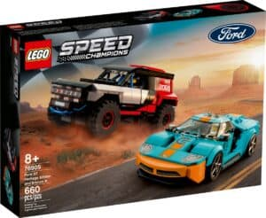 lego 76905 ford gt heritage edition e bronco r