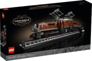 lego 10277 locomotiva crocodilo