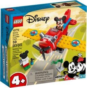 lego 10772 aviao a helice do mickey mouse