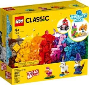 lego 11013 pecas transparentes criativas