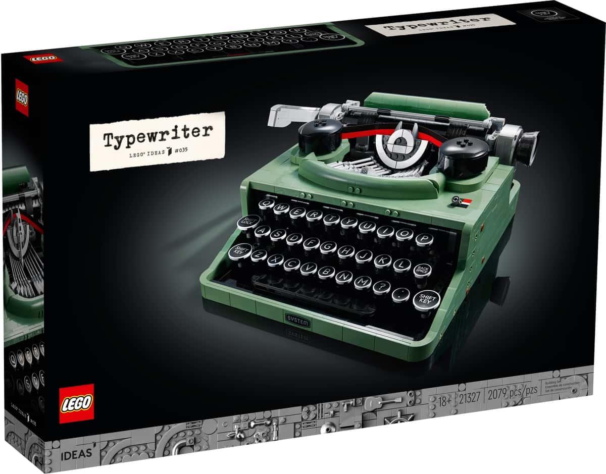 lego 21327 maquina de escrever