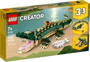 lego 31121 crocodilo