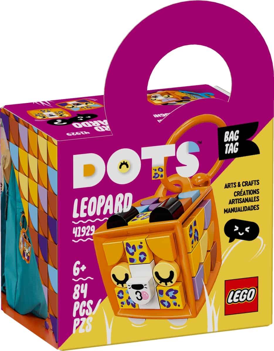 lego 41929 adorno para mala leopardo