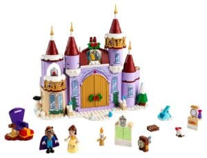 lego 43180 celebracao de inverno no castelo da bela