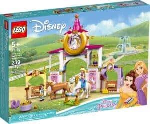 lego 43195 estabulos reais da bela e rapunzel