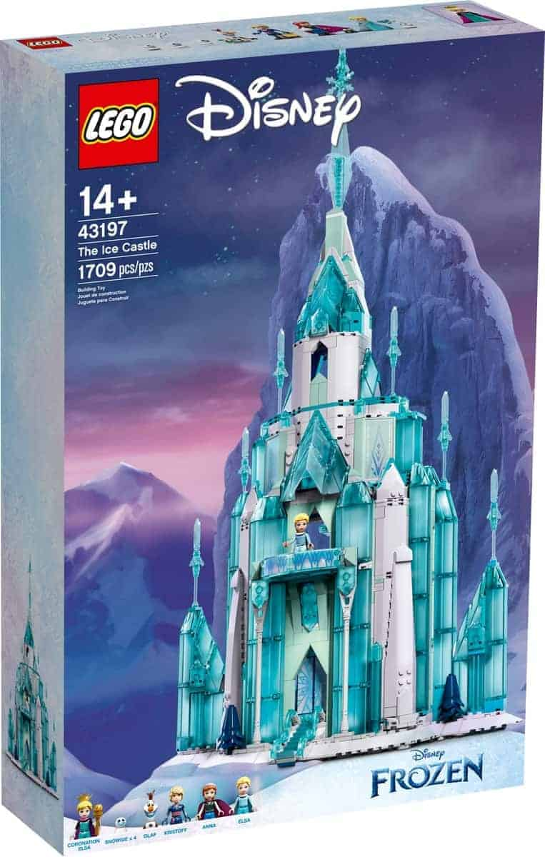 lego 43197 o castelo de gelo
