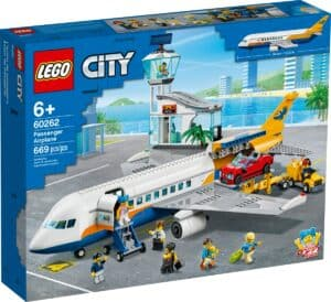lego 60262 aviao de passageiros