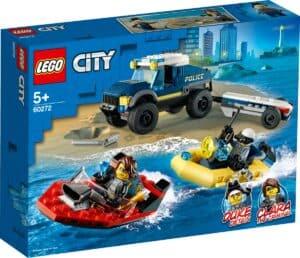 lego 60272 transporte de barco da policia de elite