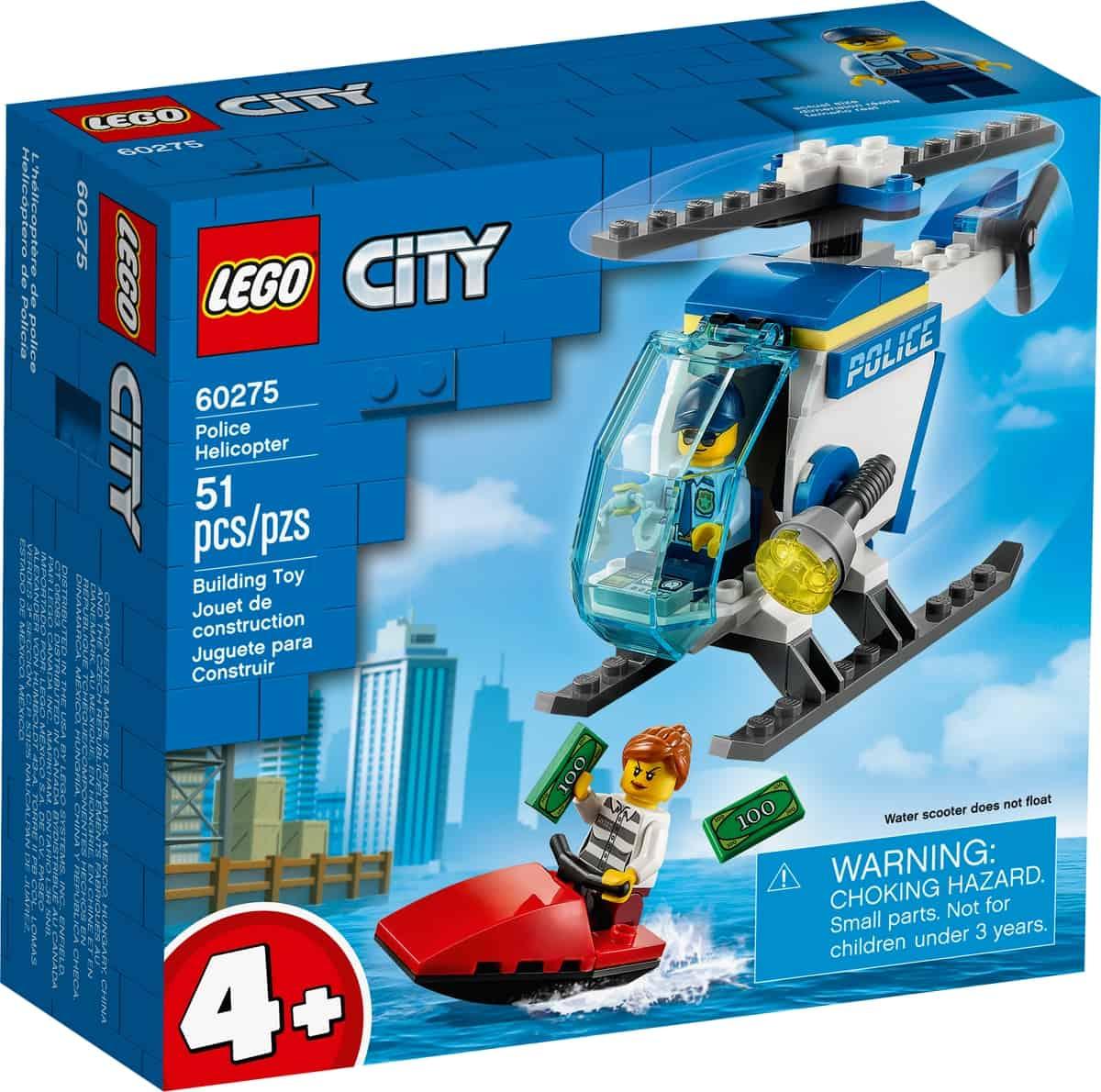 lego 60275 helicoptero da policia