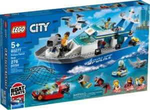 lego 60277 barco de patrulha da policia