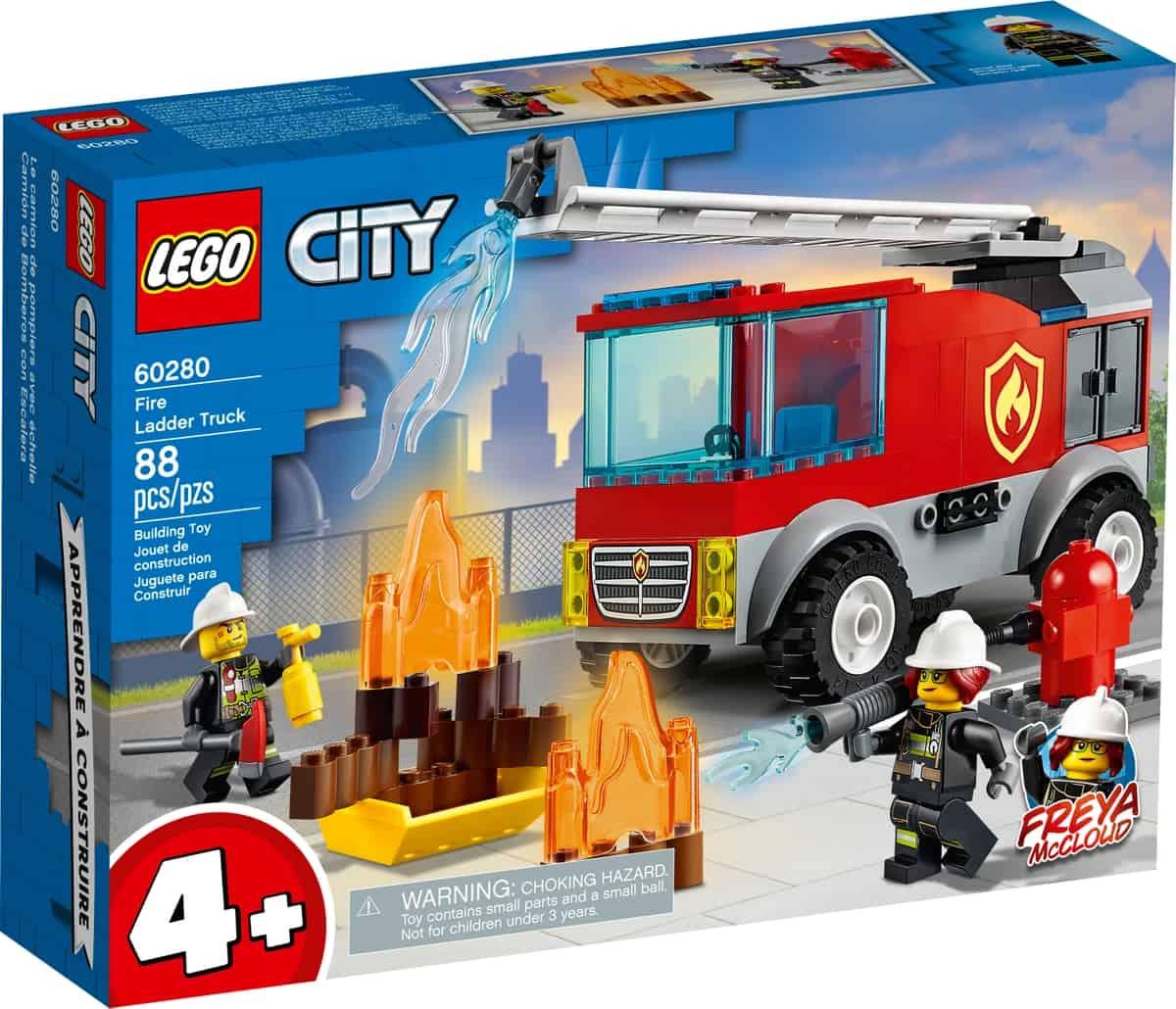 lego 60280 camiao dos bombeiros com escada