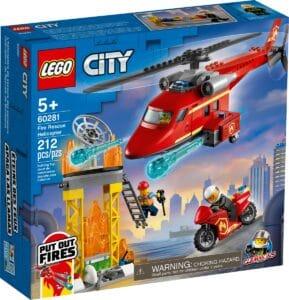 lego 60281 helicoptero de resgate dos bombeiros