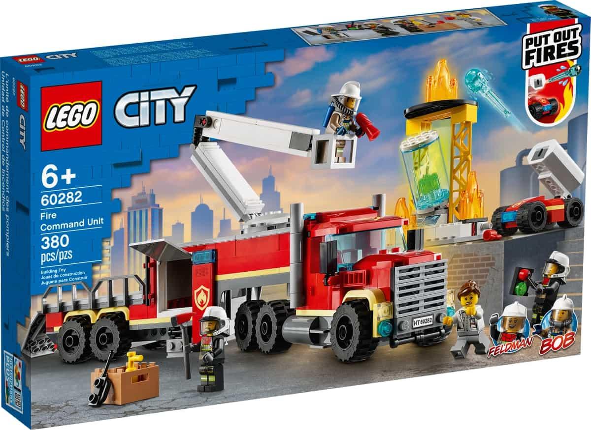 lego 60282 unidade de controlo de incendios