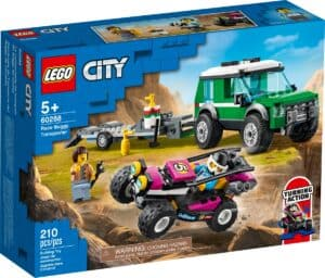 lego 60288 transportador de buggy de corrida
