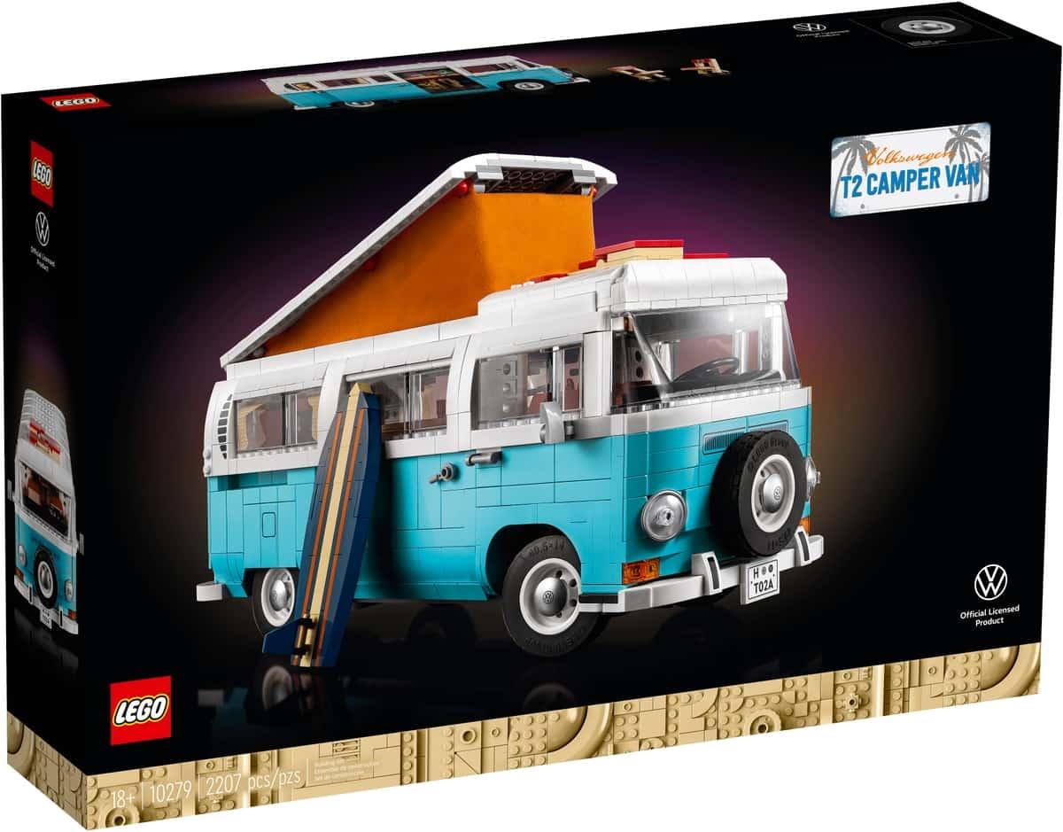 lego 10279 autocaravana wolkswagen t2