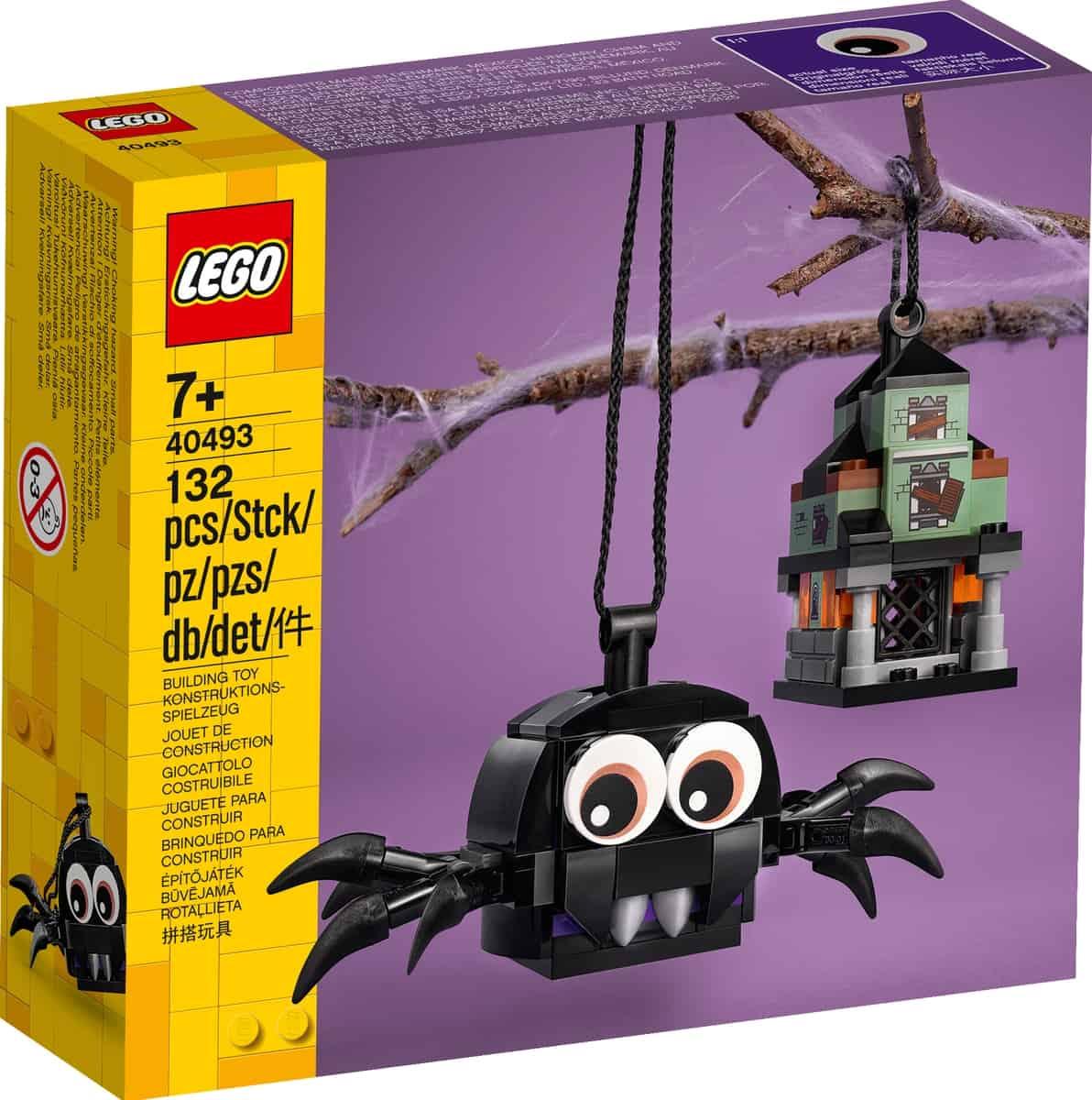 lego 40493 pack aranha e casa assombrada