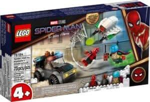 lego 76184 spider man vs ataque drone de mysterio